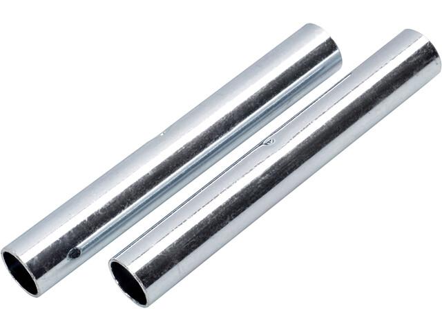 CAMPZ Embouts pour arceaux en fibre de verre 9 mm Kit de 2, silver